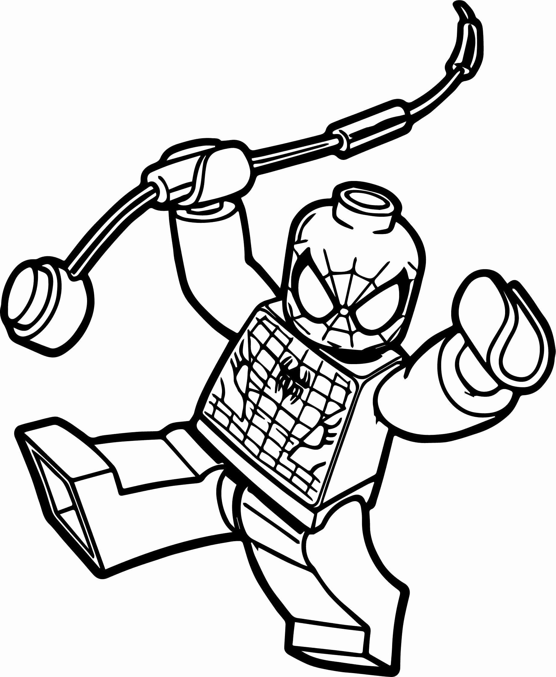 Free Printable Spiderman Coloring Pages