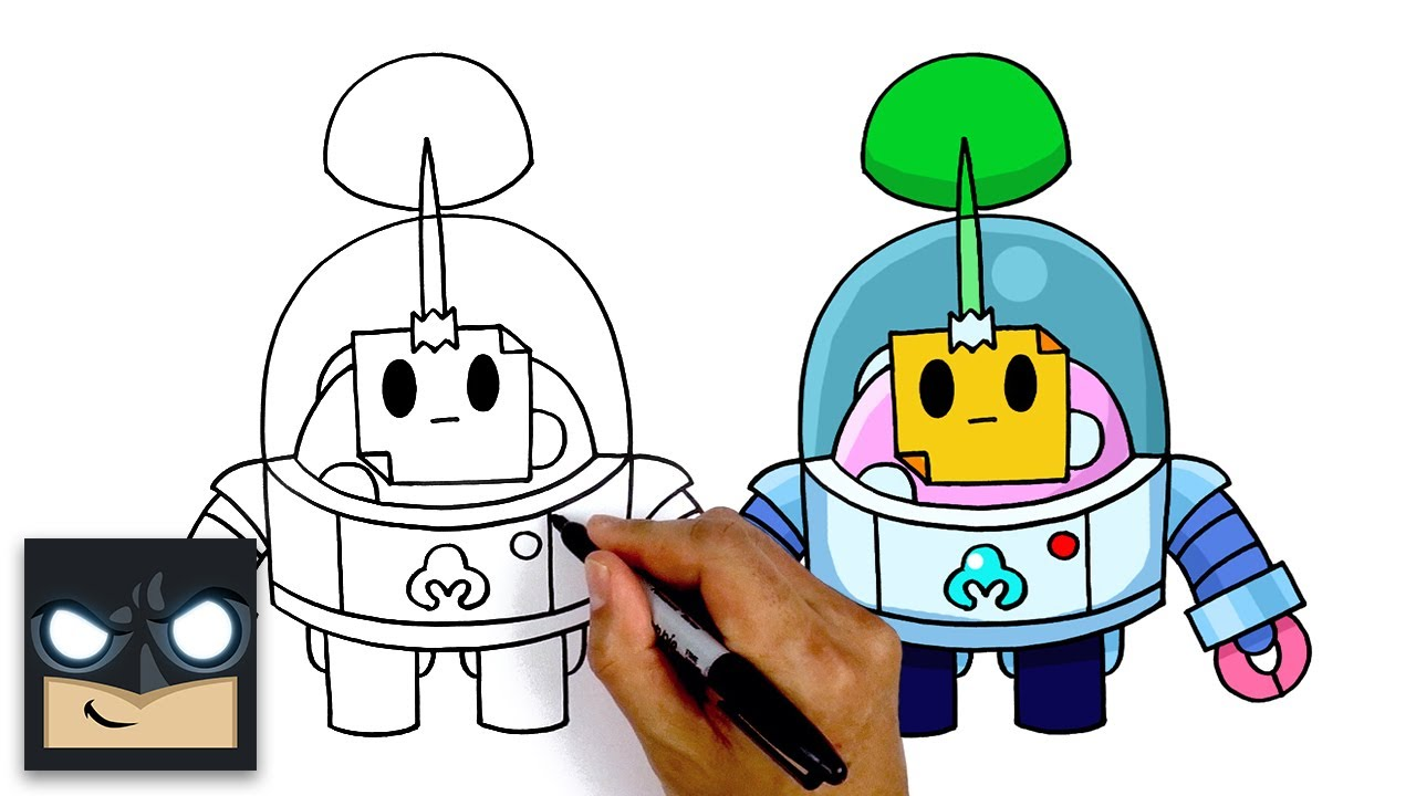 How To Draw Sprout Brawl Stars