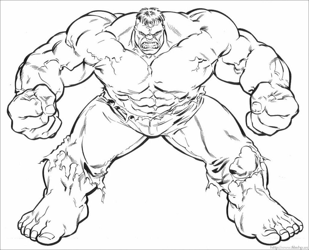 Lego Marvel Lego Hulk Coloring Pages