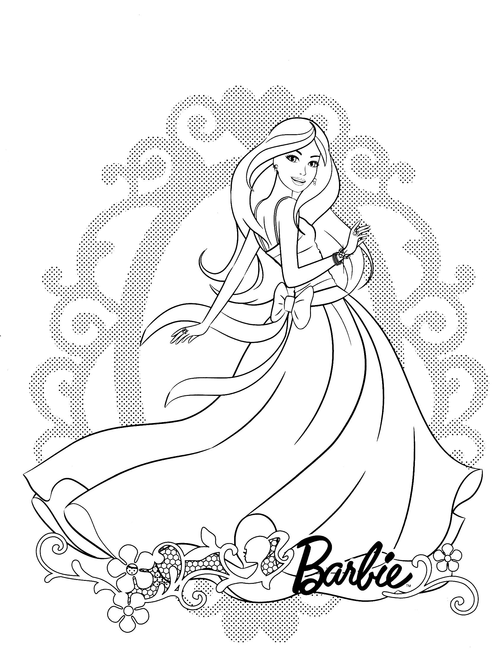 71 Winx Ideas Barbie Coloring Pages