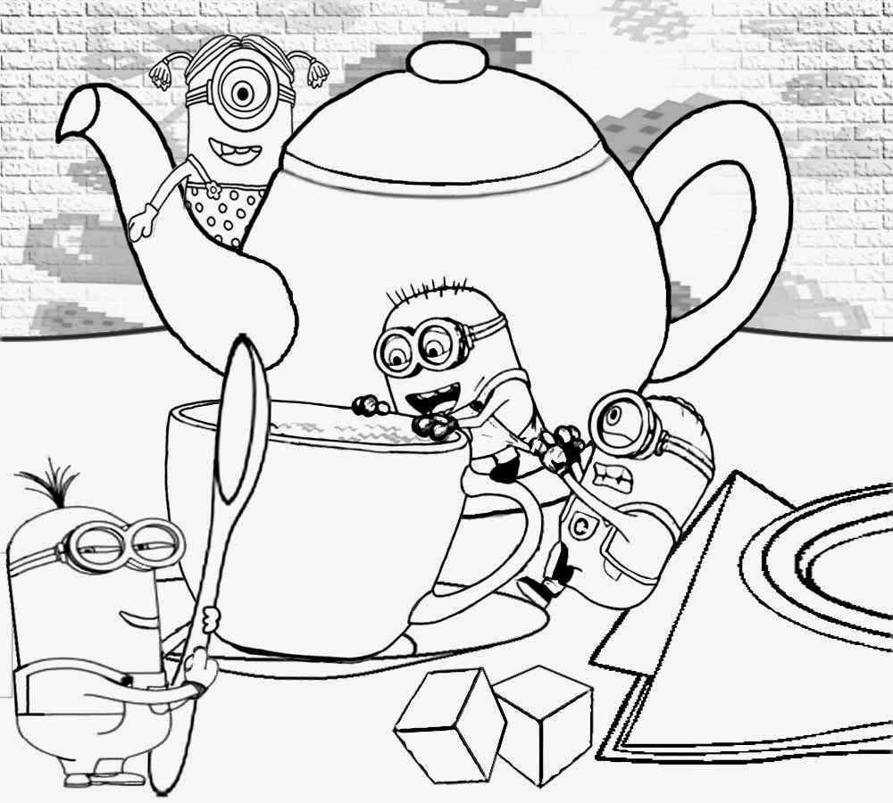 83 Minion Colouring Pages Ideas
