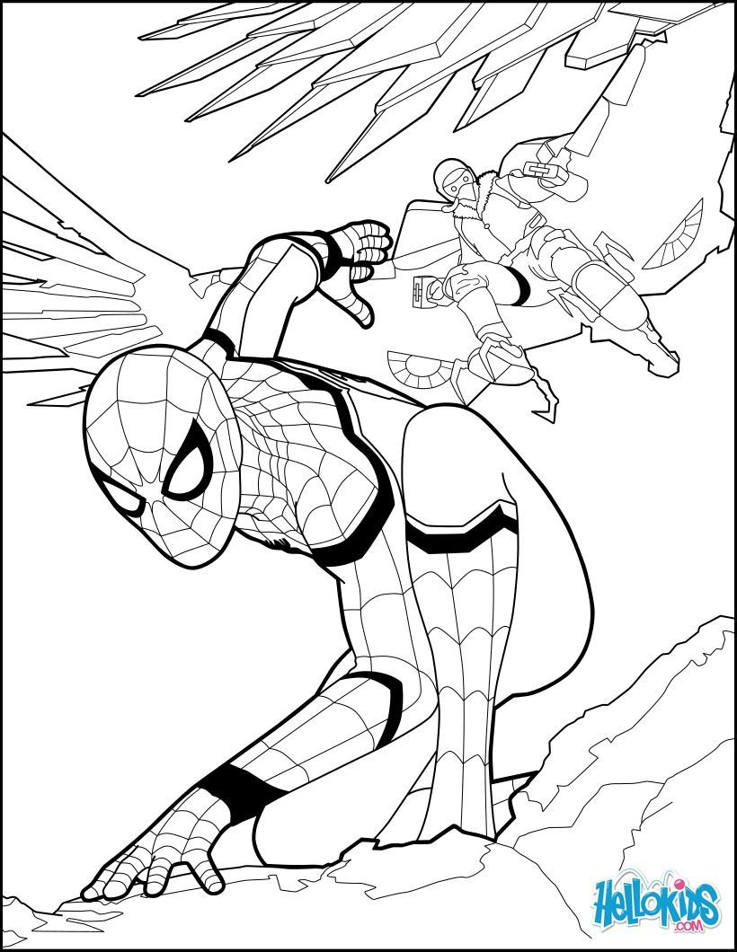 Spiderman Coloring Pages 2019 Http