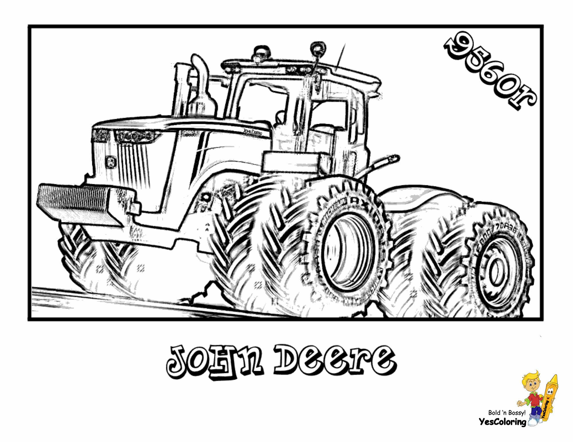 Tractor Coloring Pages Coloring Pages