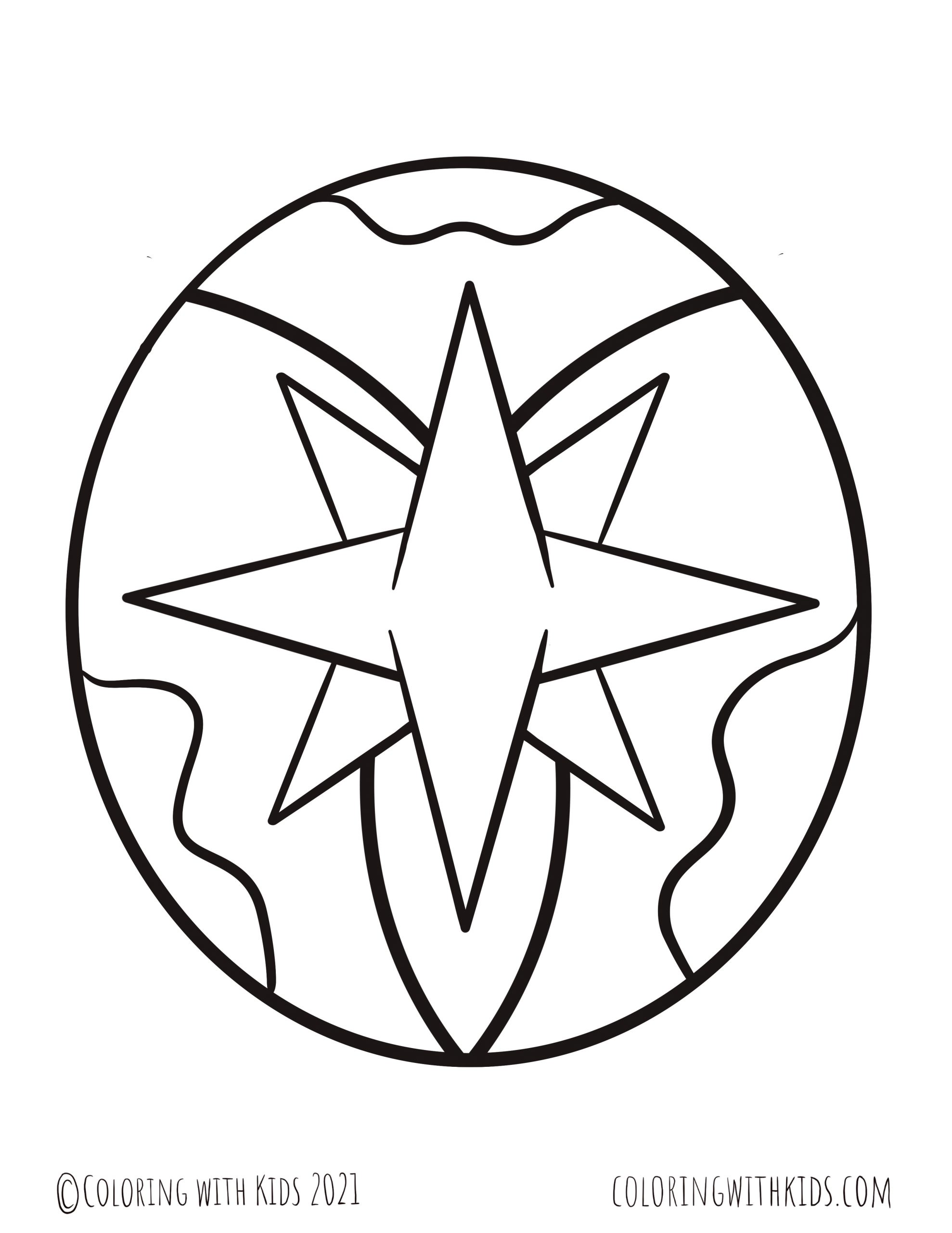 Star Coloring Pages Coloring With Kids