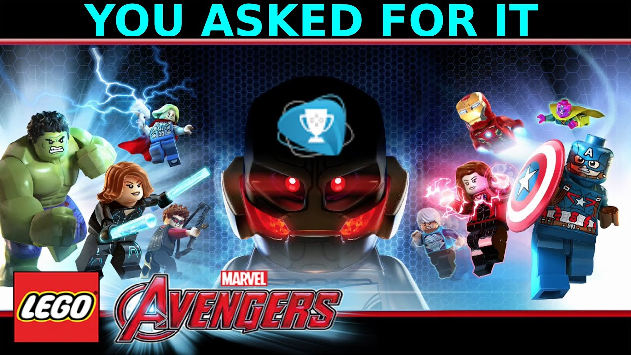 Lego Marvel Avengers You Asked For It Trophy Achievement