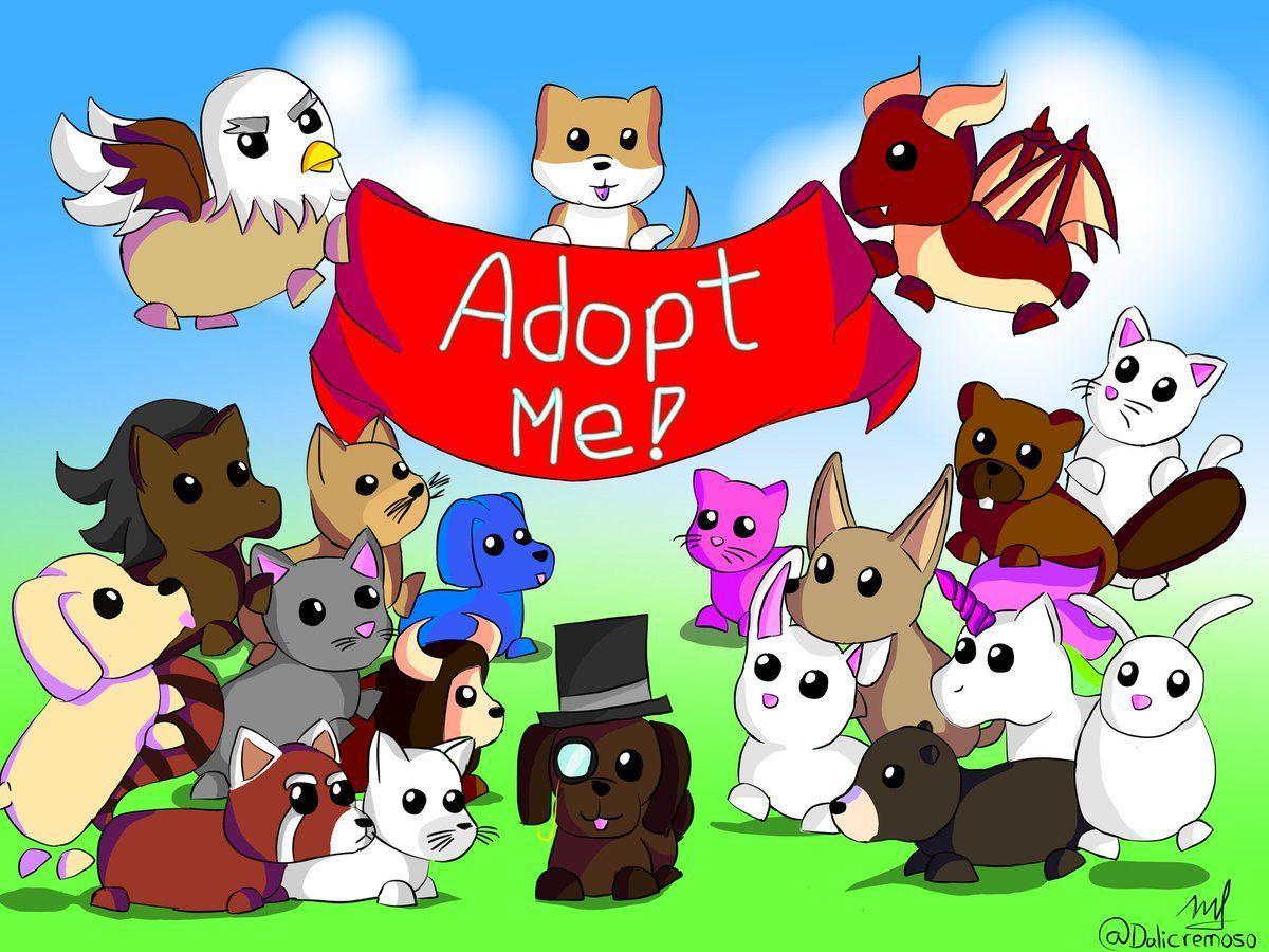 Roblox Adopt Me Pets Wallpapers