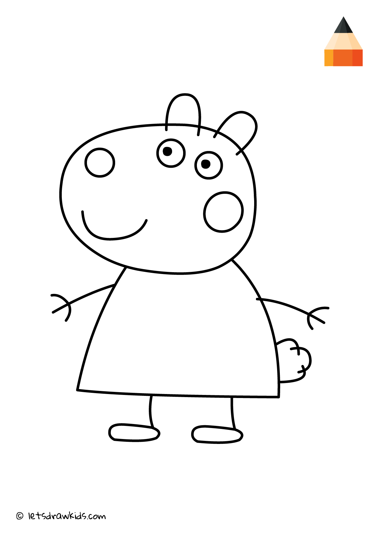 Pin On Coloring Pages Let S Draw Kids