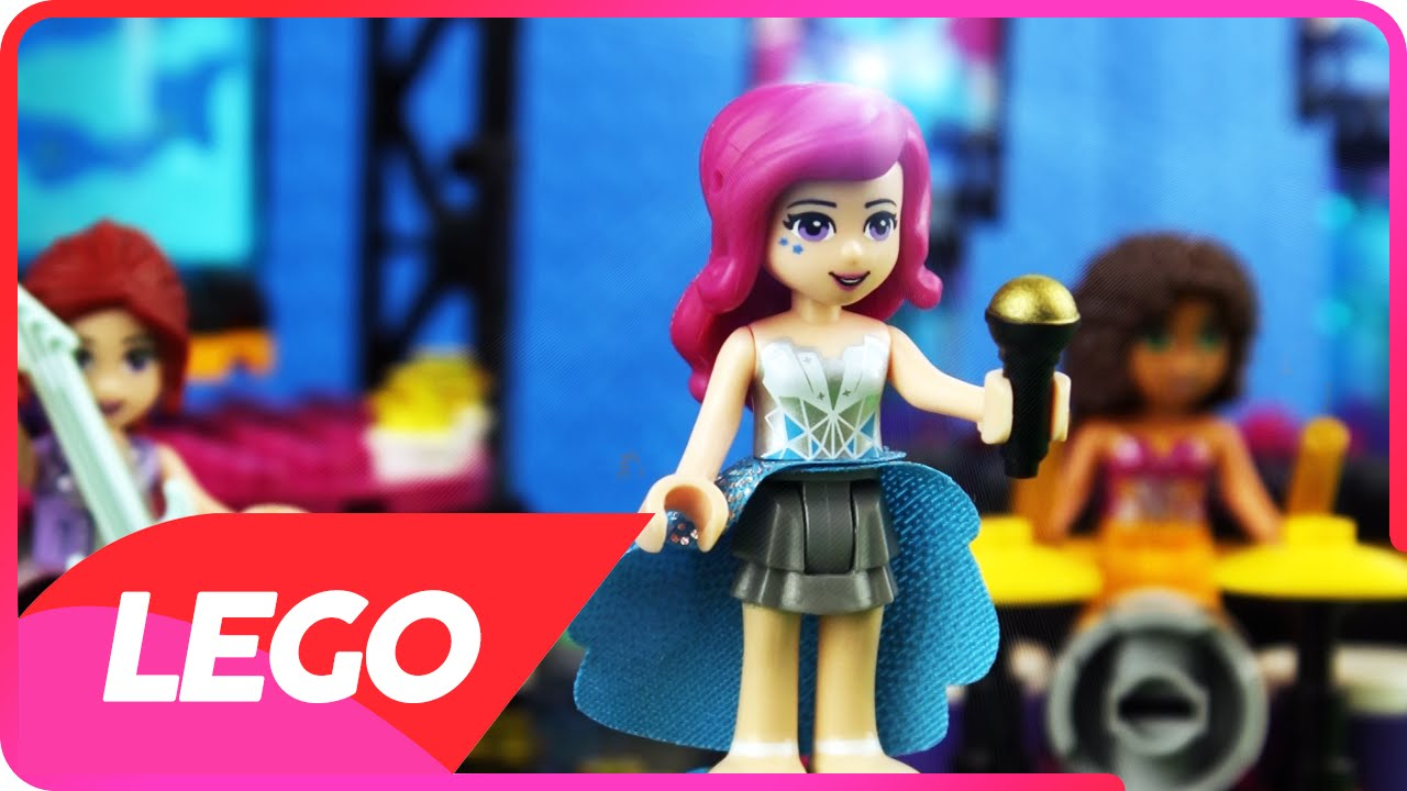 Livi Love Is A Fooling Game Lego Friends Heartlake City Music Concert