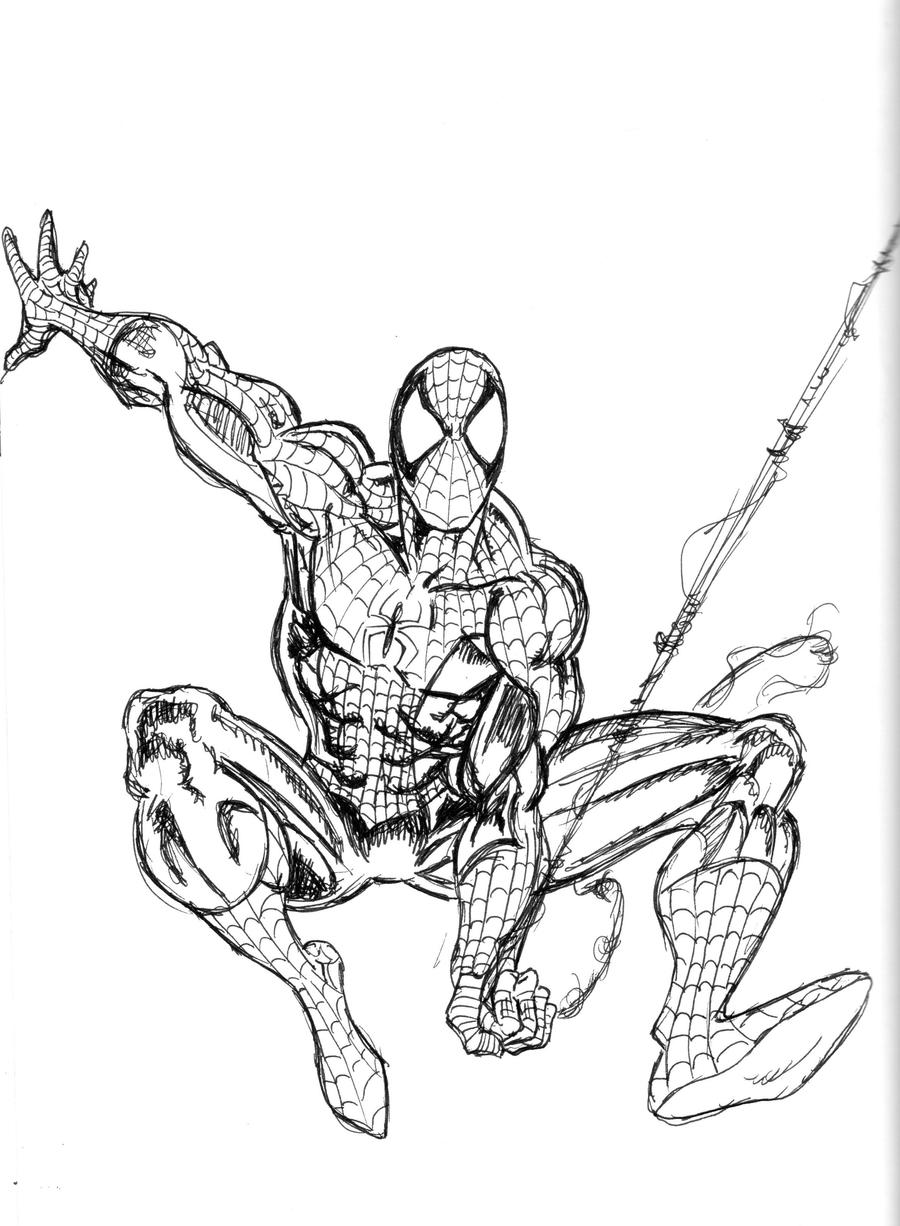 Spider Man Unlimited Coloring Pages