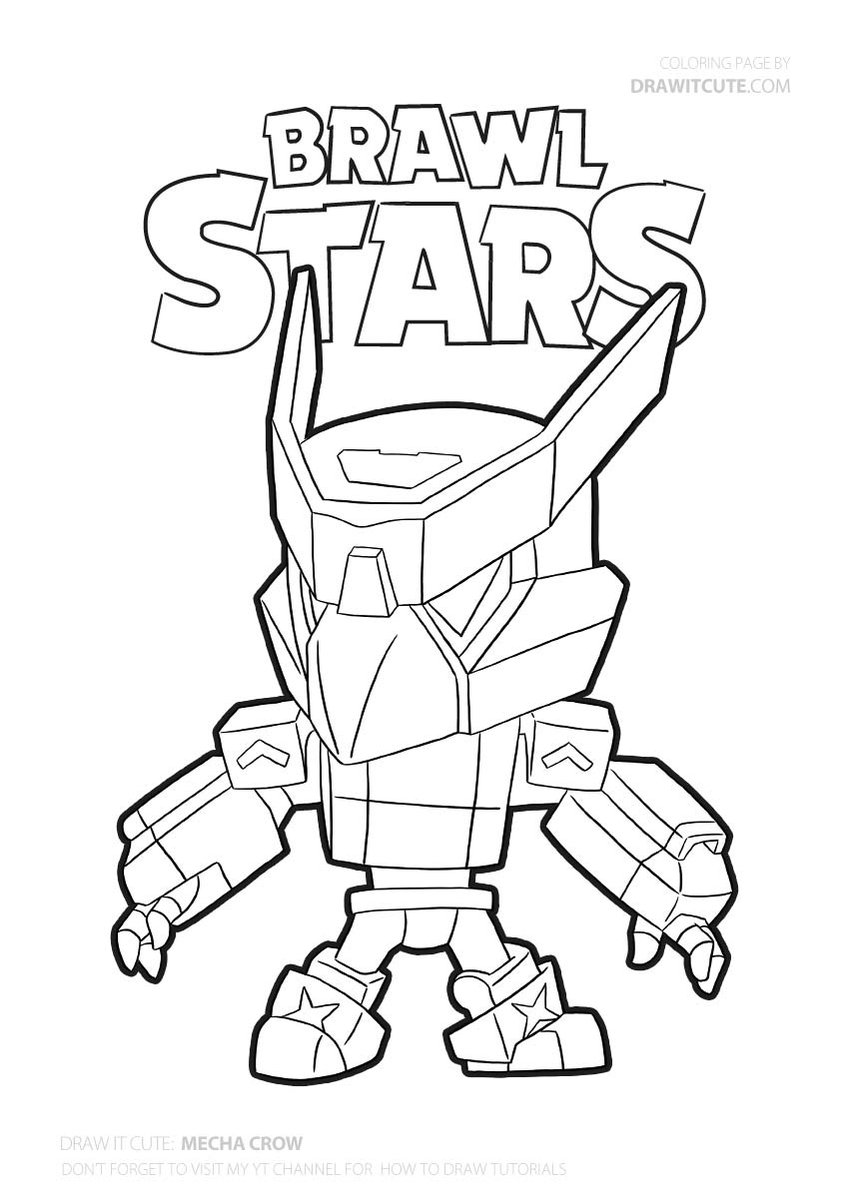 Brawl Stars Ideas Star Coloring Pages