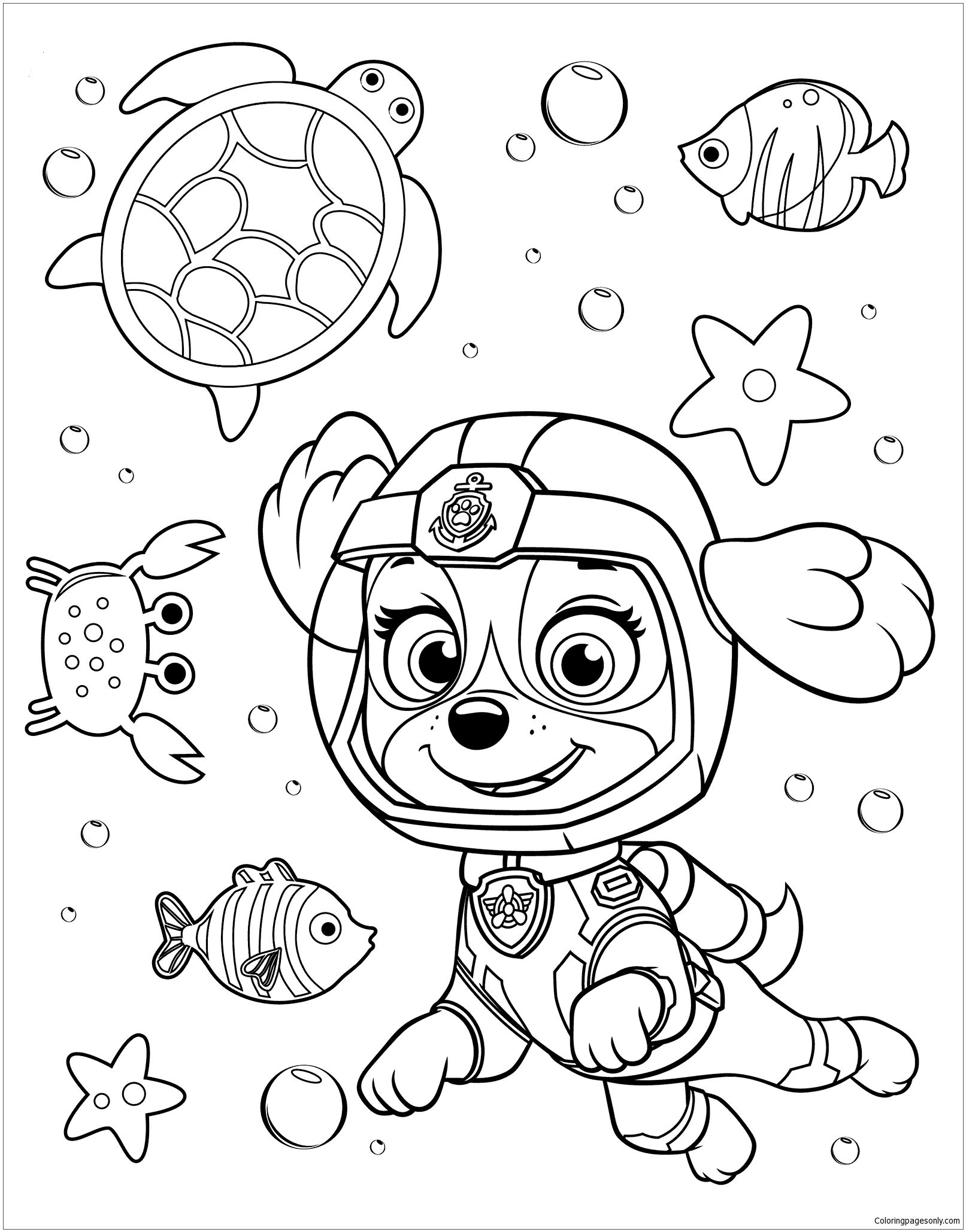 38 Best Paw Patrol Coloring Pages Ideas