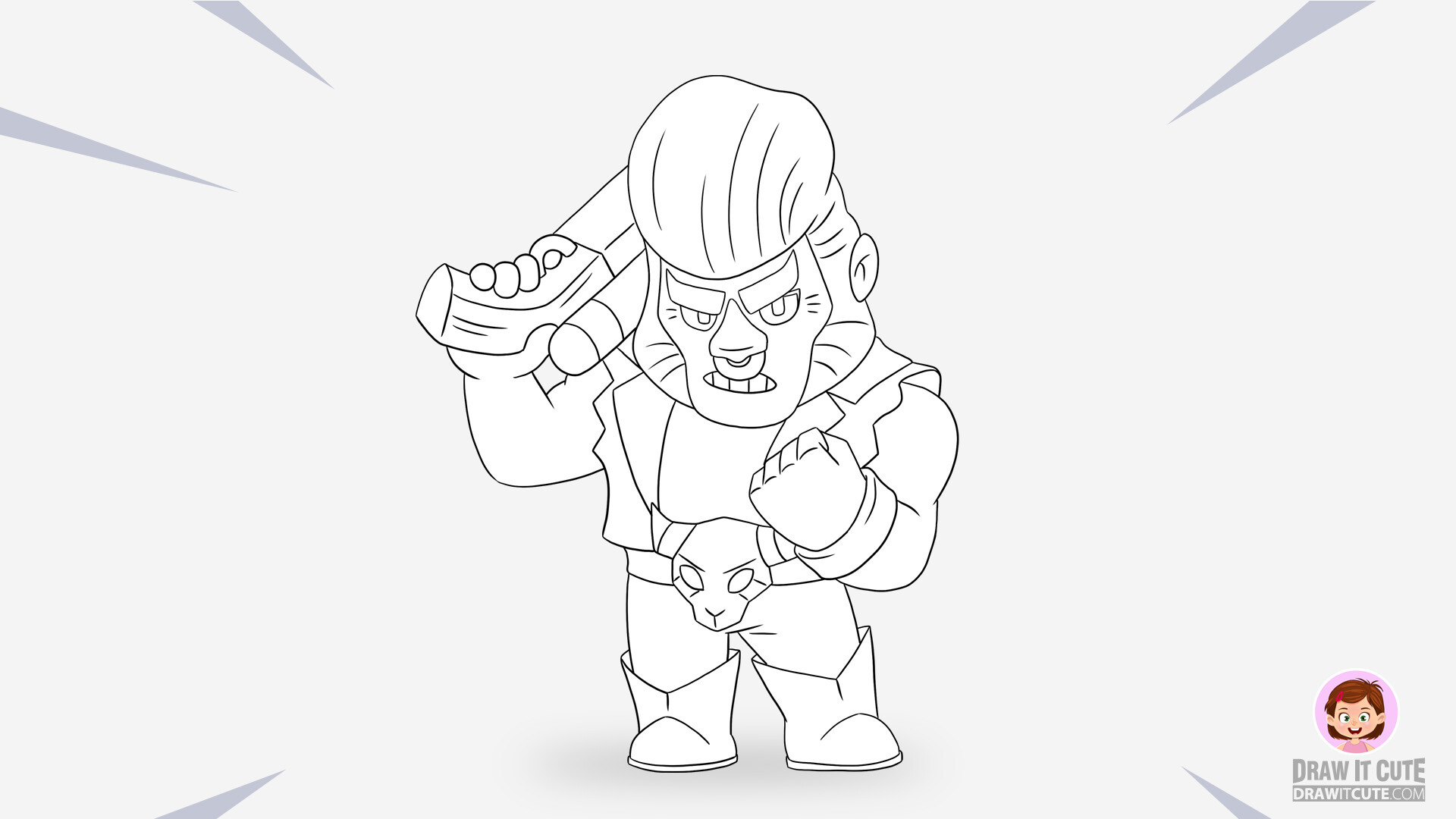Brawl Stars Coloring Pages Mr P