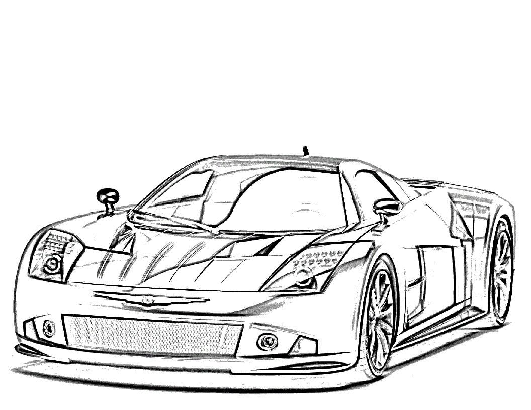 Race Car Coloring Pages Coloring Pages