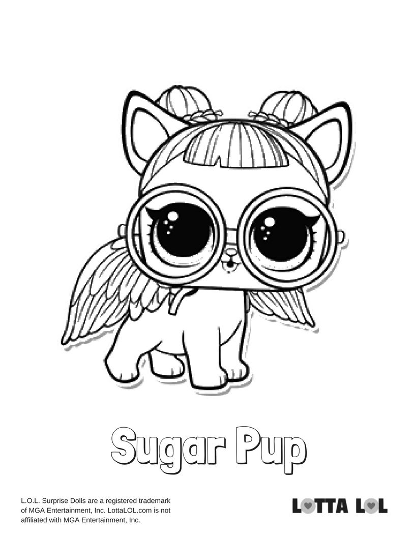Series 3 Pets Coloring Pages