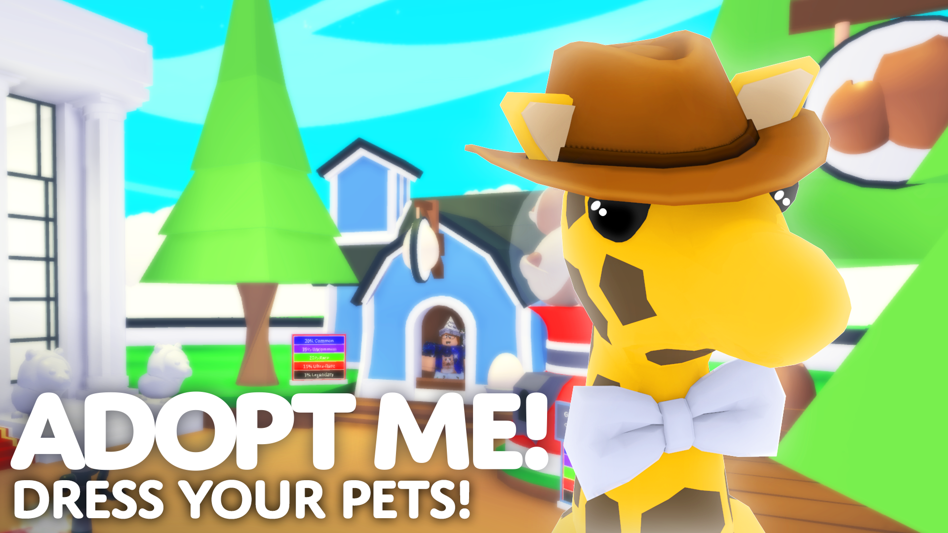 Cute Pet Collecting Roblox Game Adopt