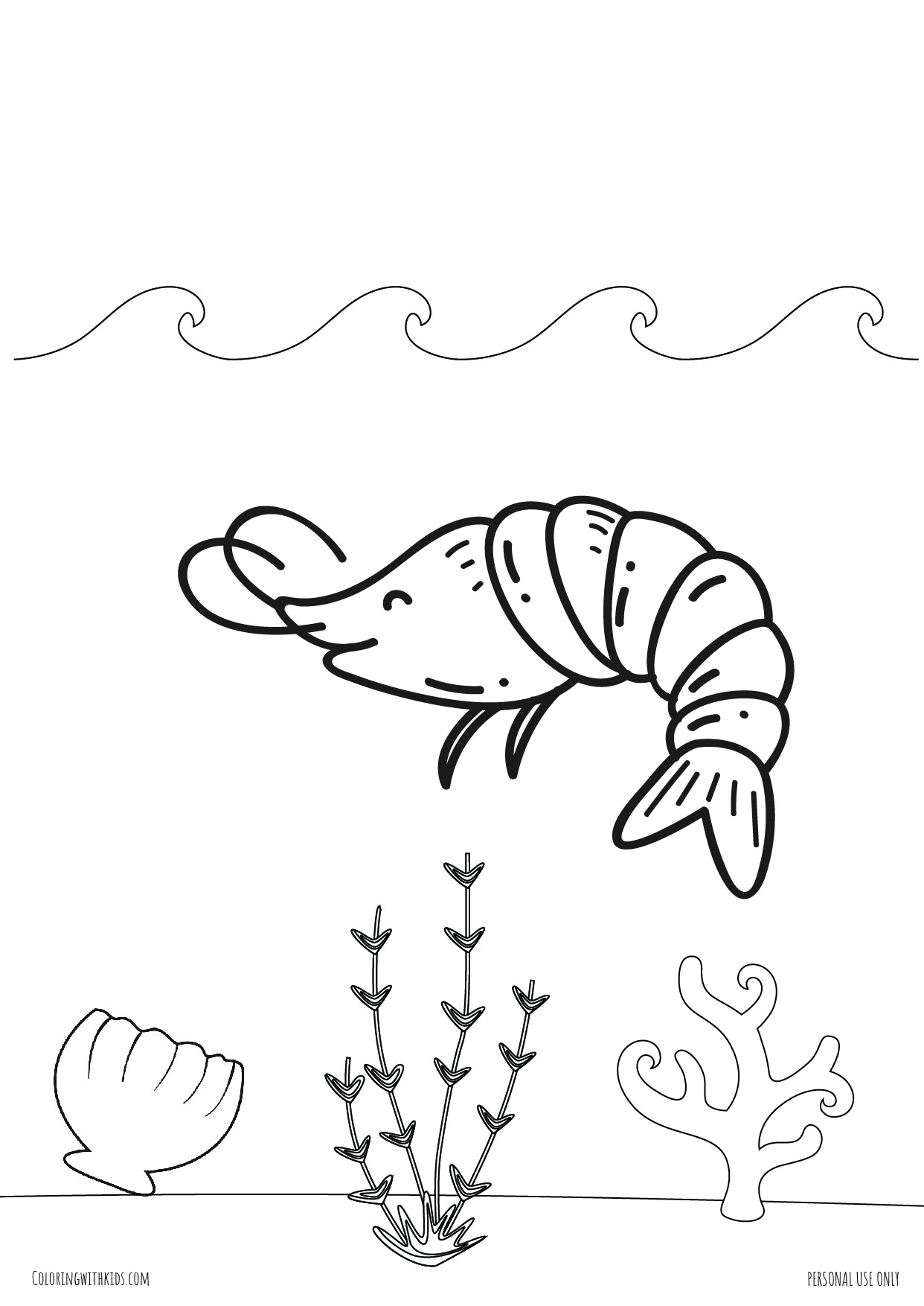 Under The Sea Coloring Pages Coloring