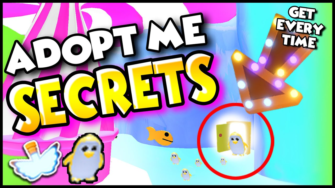 Working Hack How To Get Golden Penguin Every Time In Adopt Me Roblox Secrets In Ice Cream Shop