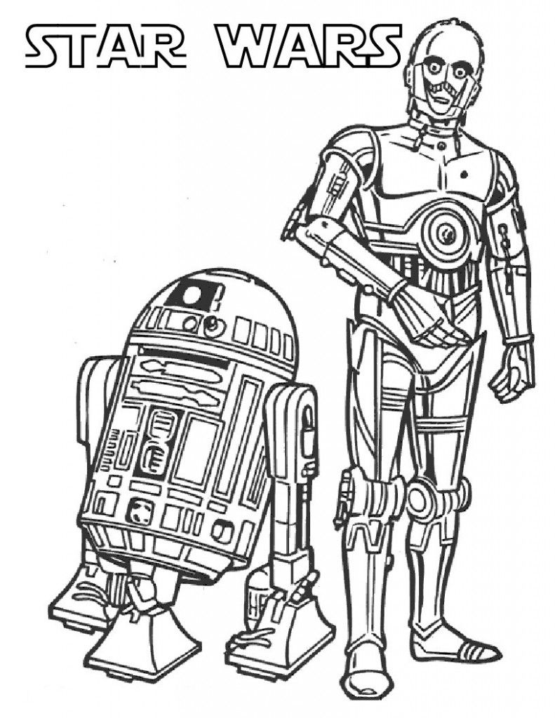 25 Star Wars Coloring Book Ideas Star