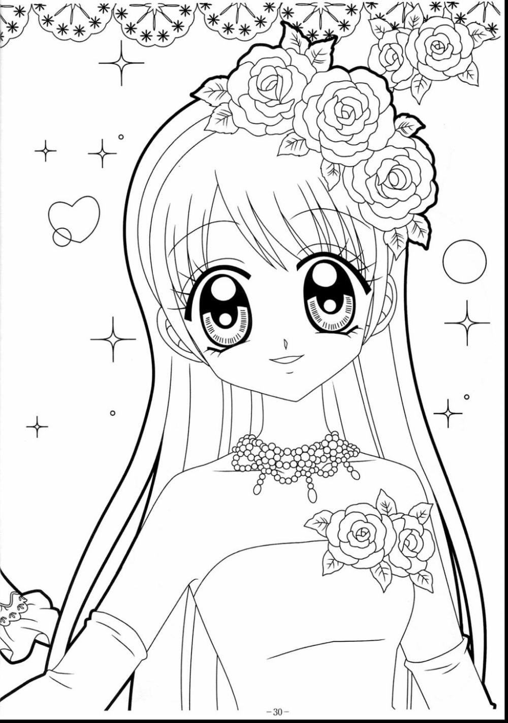 Gacha Life Coloring Pages Line Drawing