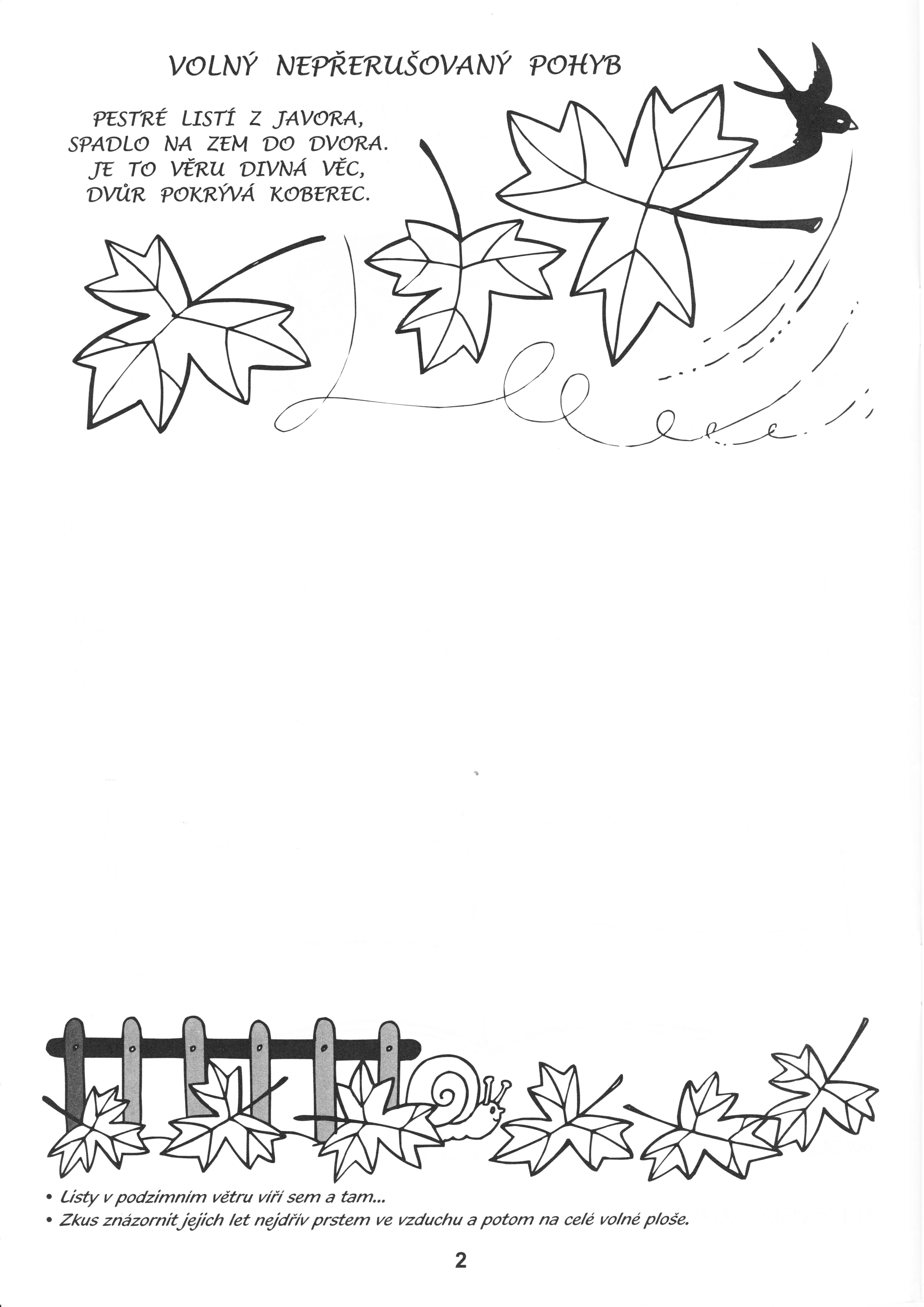 Grafomotorika Listi Autumn Activities Coloring Pages Activities For Kids